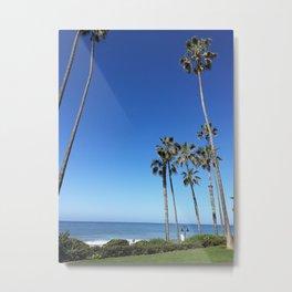 MORNING AT NORTH BEACH Metal Print