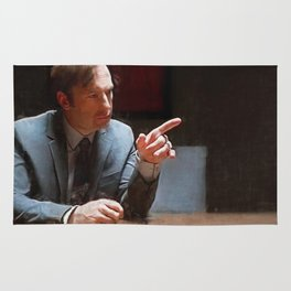 This Injustice Will Not Stand - Better Call Saul Rug