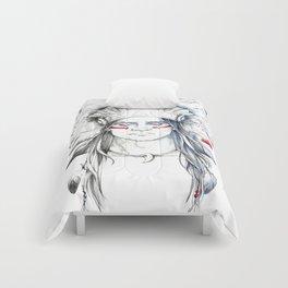 Indian man II Comforters