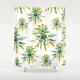 Euphorbia III Shower Curtain