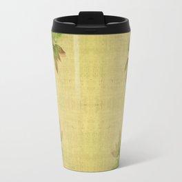 """Pink & green plants"" Travel Mug"