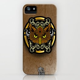 Meister Owl iPhone Case