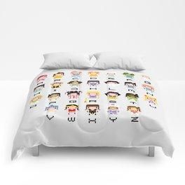 Princess Alphabet Comforters
