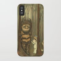 wild things iPhone & iPod Cases featuring Wild Things  by thepoppytree