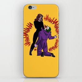 The last laugh iPhone Skin