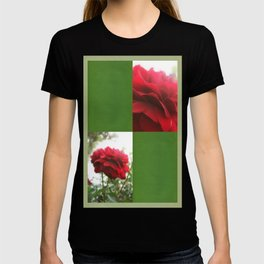 Red Rose with Light 1 Blank Q5F0 T-shirt