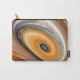 Abstract swirl rainbow background Carry-All Pouch