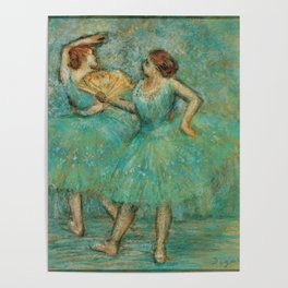 Two Dancers Poster