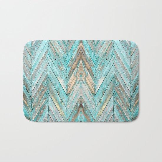 Wood Texture 1 Bath Mat