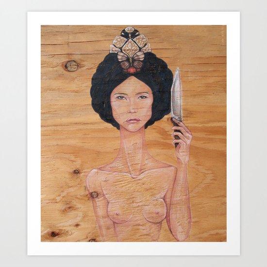 The Last Empress Art Print