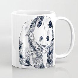 Tattooed Panda {cream} Coffee Mug