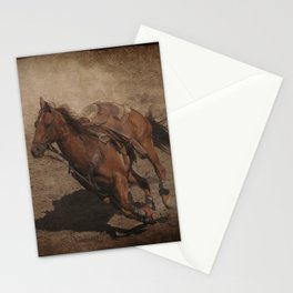 Break Away Rodeo Horse Stationery Cards