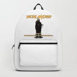 There Can Be Only One Backpack