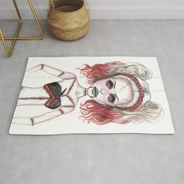Marionette Corpse Art by Laurie Leigh Rug