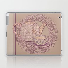 tea cup pink edition  Laptop & iPad Skin