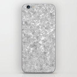 Snow patterns iPhone Skin