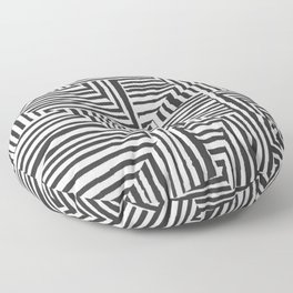 Optical Illusion Sketch Floor Pillow