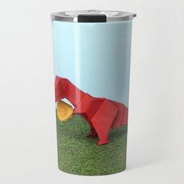 Yes T-Rex can! Travel Mug