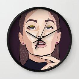 gigi hadid Wall Clock