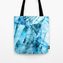 Blue crystal Tote Bag