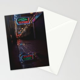 Pike Place Market After Hours Stationery Cards