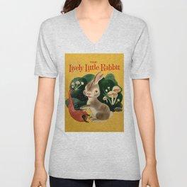The Lively Little Rabbit Unisex V-Neck