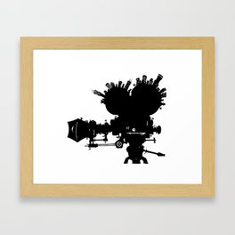 The Second City of Angels Framed Art Print