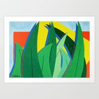 Plantain - Paint Art Print