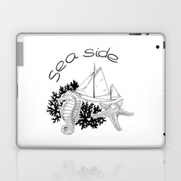 Sea Side Laptop & iPad Skin