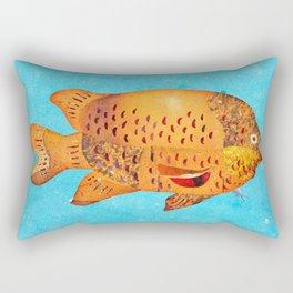 Garibaldi Fish Rectangular Pillow