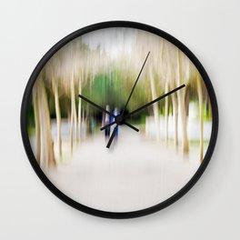 Light Painting Wall Clock