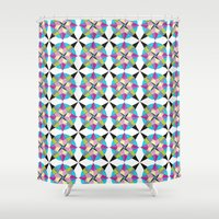 morocco Shower Curtains featuring MOROCCO STARS by Heaven7