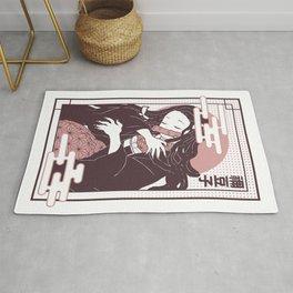 Nezuko Kimetsu no yaiba Rug
