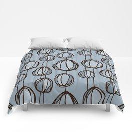 Beach flowers Comforters