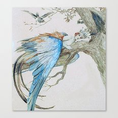 Feather fairy by Sergey Sergeevich 1912 Canvas Print
