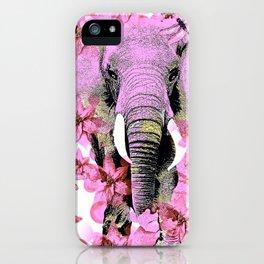 ELEPHANT PINK iPhone Case