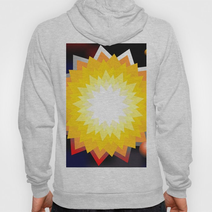 summer sun with planet Hoody