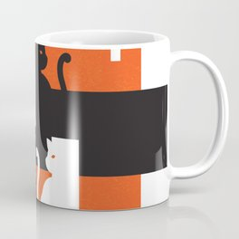 Cat in De Stijl - Halloween Edition Coffee Mug