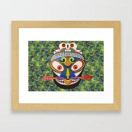 Tribal Art Framed Art Print