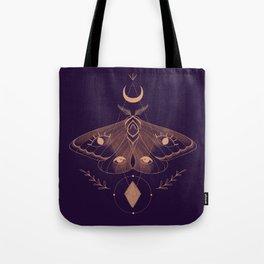 Metaphys Moth - Purple Tote Bag