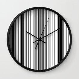 Barcode Pattern Wall Clock