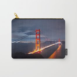 Golden Gate Bridge at Night | San Francisco, CA Carry-All Pouch
