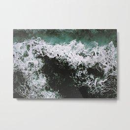 Mar caótico Metal Print
