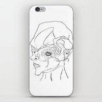 human iPhone & iPod Skins featuring Human. by sonigque