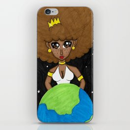 Be the queen of your own world iPhone Skin