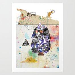 Tuts formation Art Print