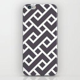 Monochrome Intricate Pattern Gamma iPhone Skin