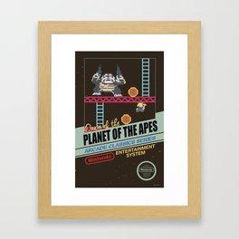 Ape not kill ape Framed Art Print
