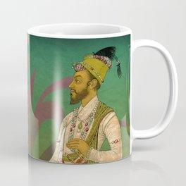2 Mughals on Green Coffee Mug