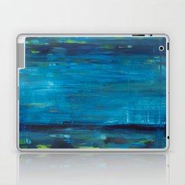 blue vertical Laptop & iPad Skin